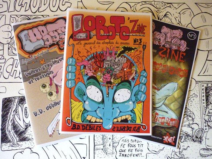 Promo Loboto 'zine dans Publications P1080925