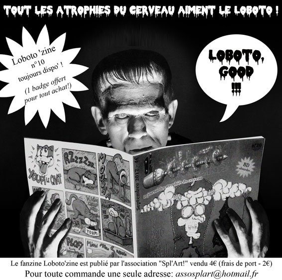 Même le monstre du Dr Frankenstein aime le Loboto! dans Illustrations diverses pub-lobo-frankenstein-2